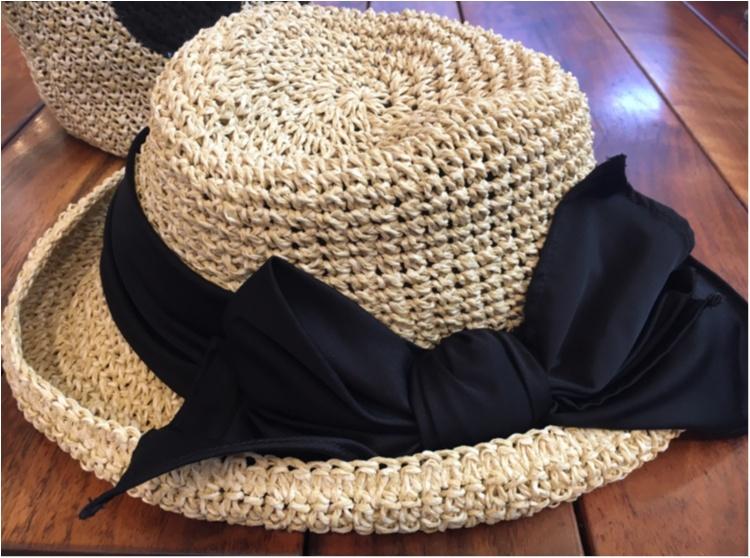 【夏小物】全力で夏を楽しむなら!《CA4LA》の麦わら帽子が断然お気に入り♪_2