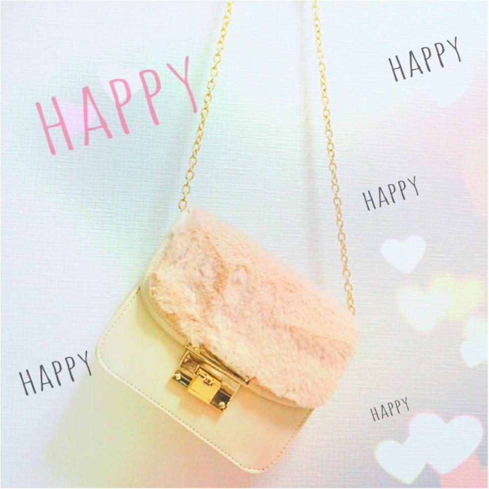 SNSで大人気!【Honeys】の《メトロポリス風》ファー付きバッグがプチプラ&可愛い❤️_1