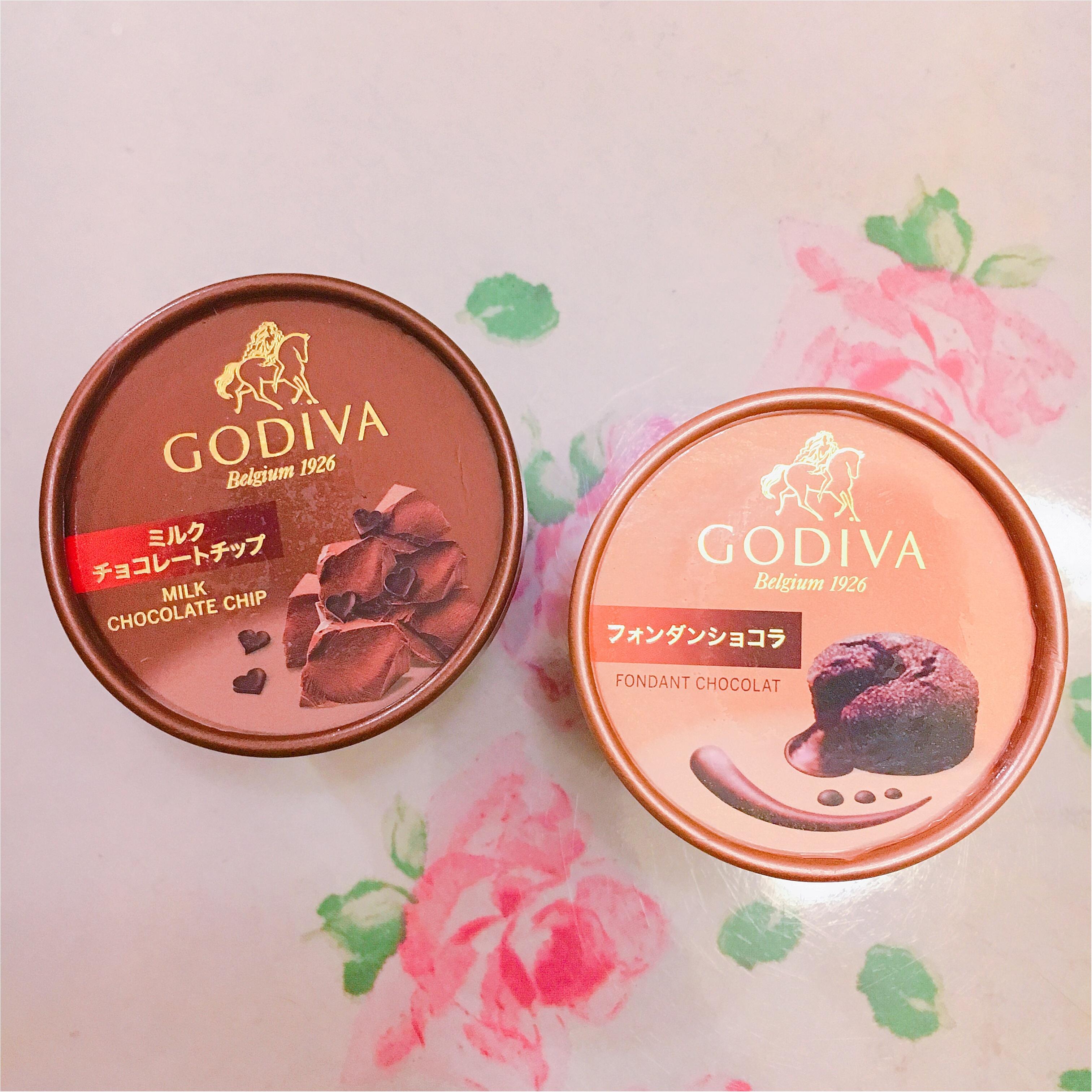 【コンビニアイス】お正月だもの!贅沢しましょ♡ GODIVAの濃厚チョコレートアイス♡♡_1