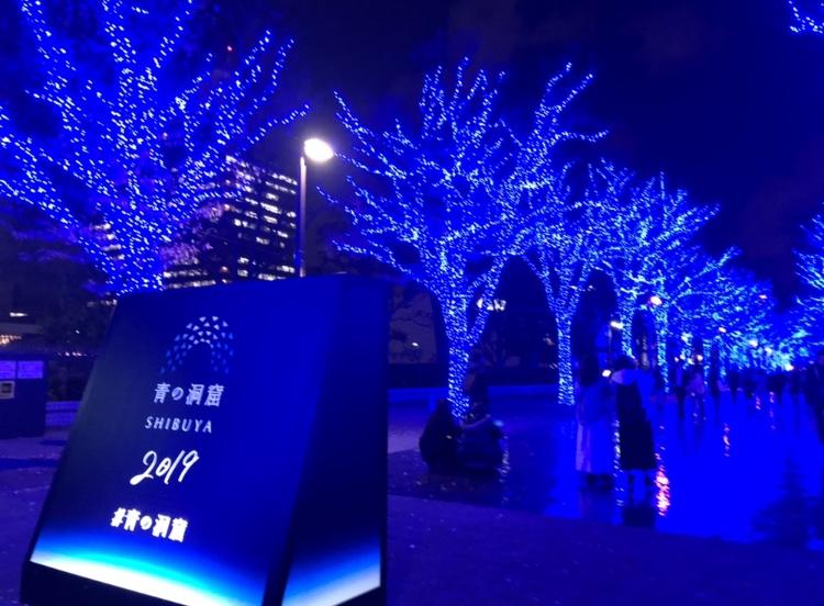 \渋谷イルミ/青の洞窟 SHIBUYA♡_2