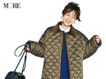 【今日のコーデ】通勤カジュアルの新・定番はキメキメすぎないのに上品なキルティングコートに決めた!