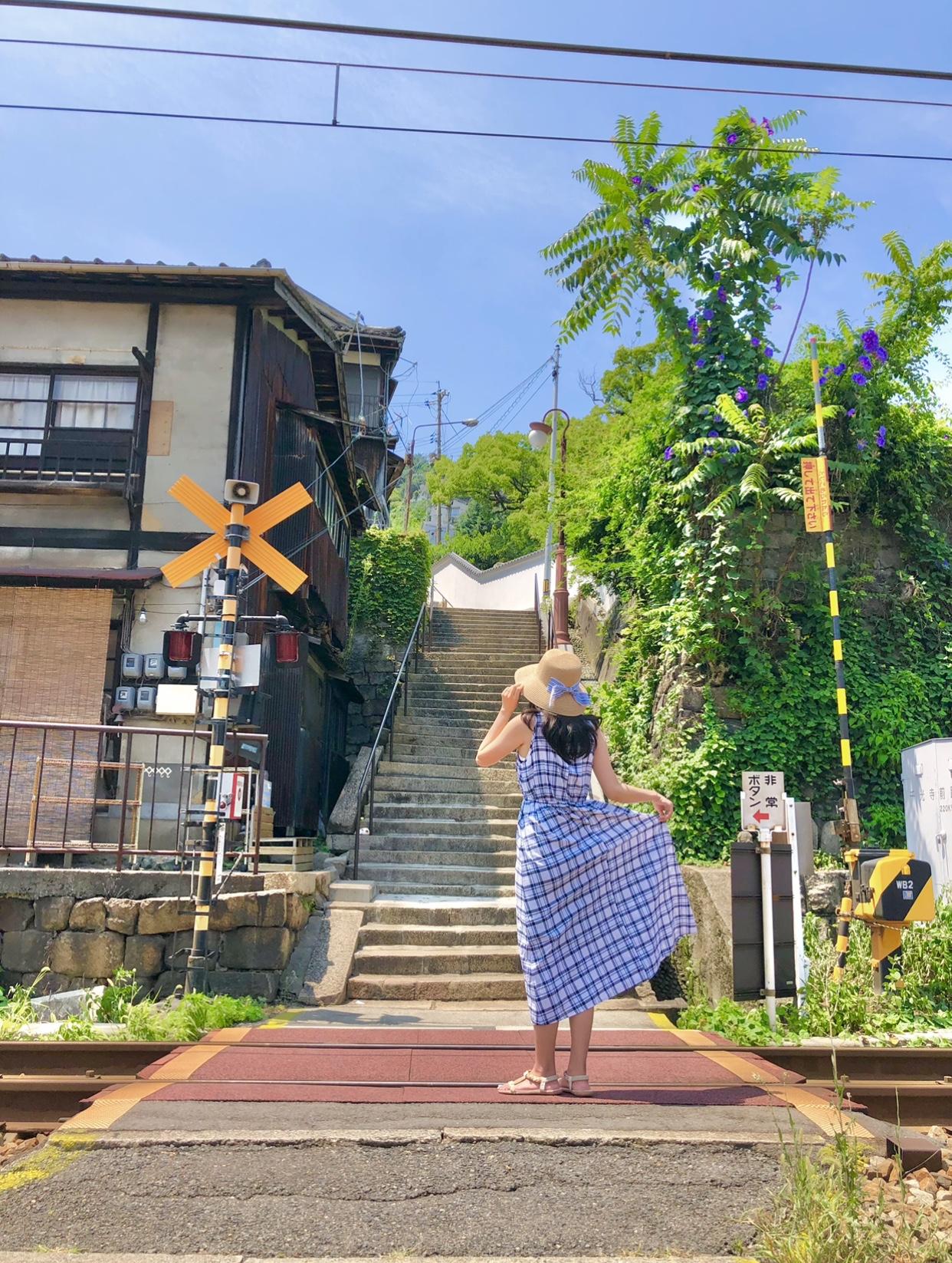 広島県尾道市土堂の階段