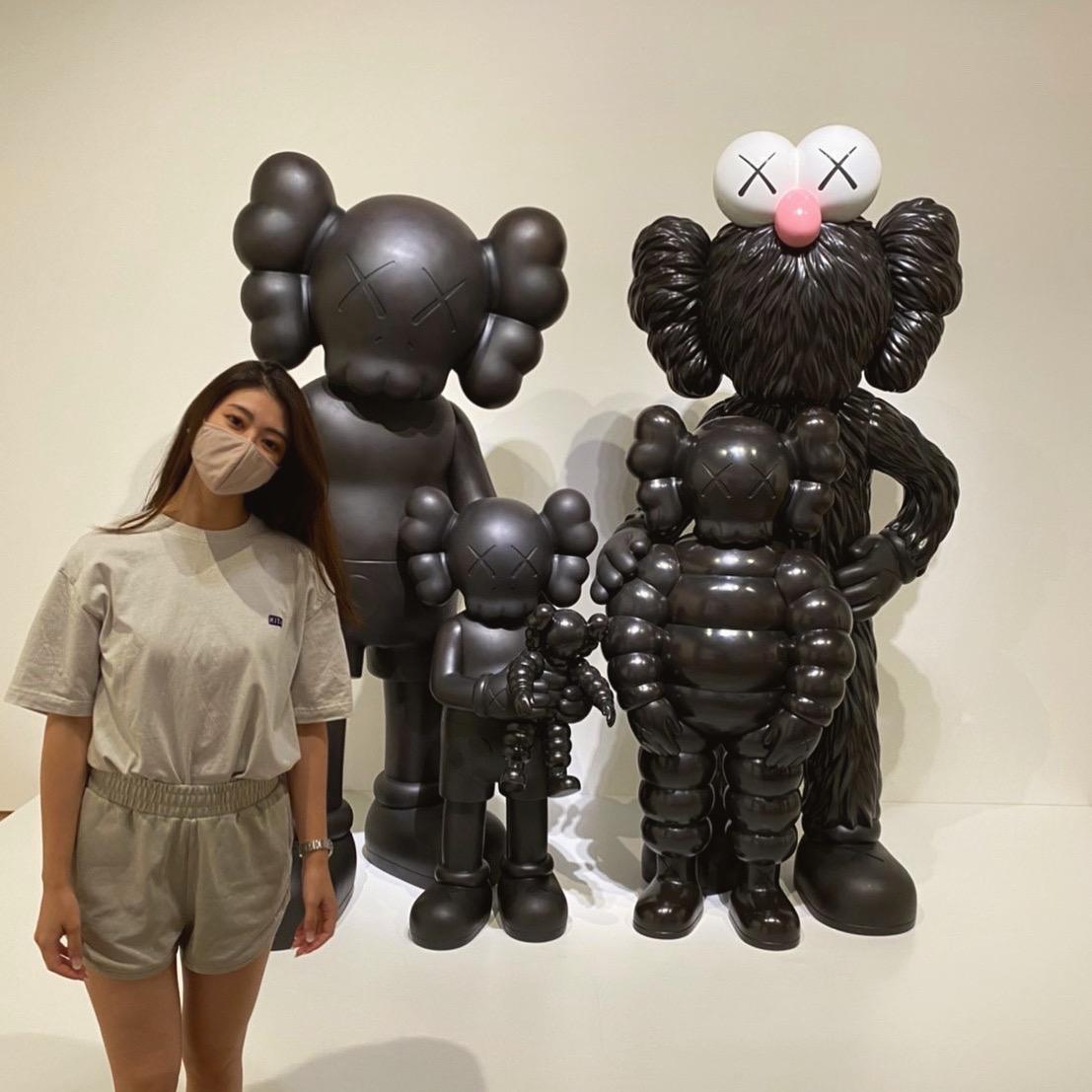 【KAWS TOKYO FIRST】カウズの大展覧会に行ってきました。_1