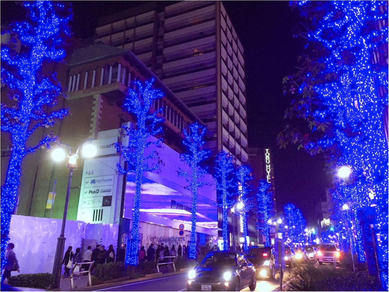 あの『青の洞窟』が渋谷に帰ってきた♡一面ブルーのイルミネーションは見逃し厳禁(*´ ˘ `*)_4