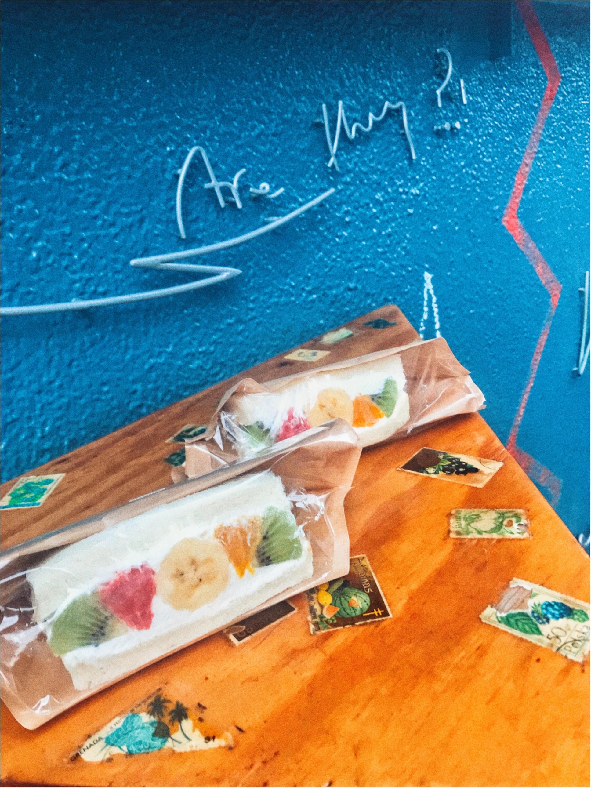【フツウニフルウツ】カラフル可愛すぎなインスタ映えサンドイッチ( ¨̮  )♡見た目も味もお店も最高に映えるスポットご紹介☝︎_3