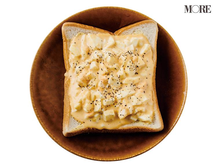 朝食におすすめ♪ 卵かウィンナーがあればできる、食パンの簡単アレンジレシピ3選【おかず食パン】_3