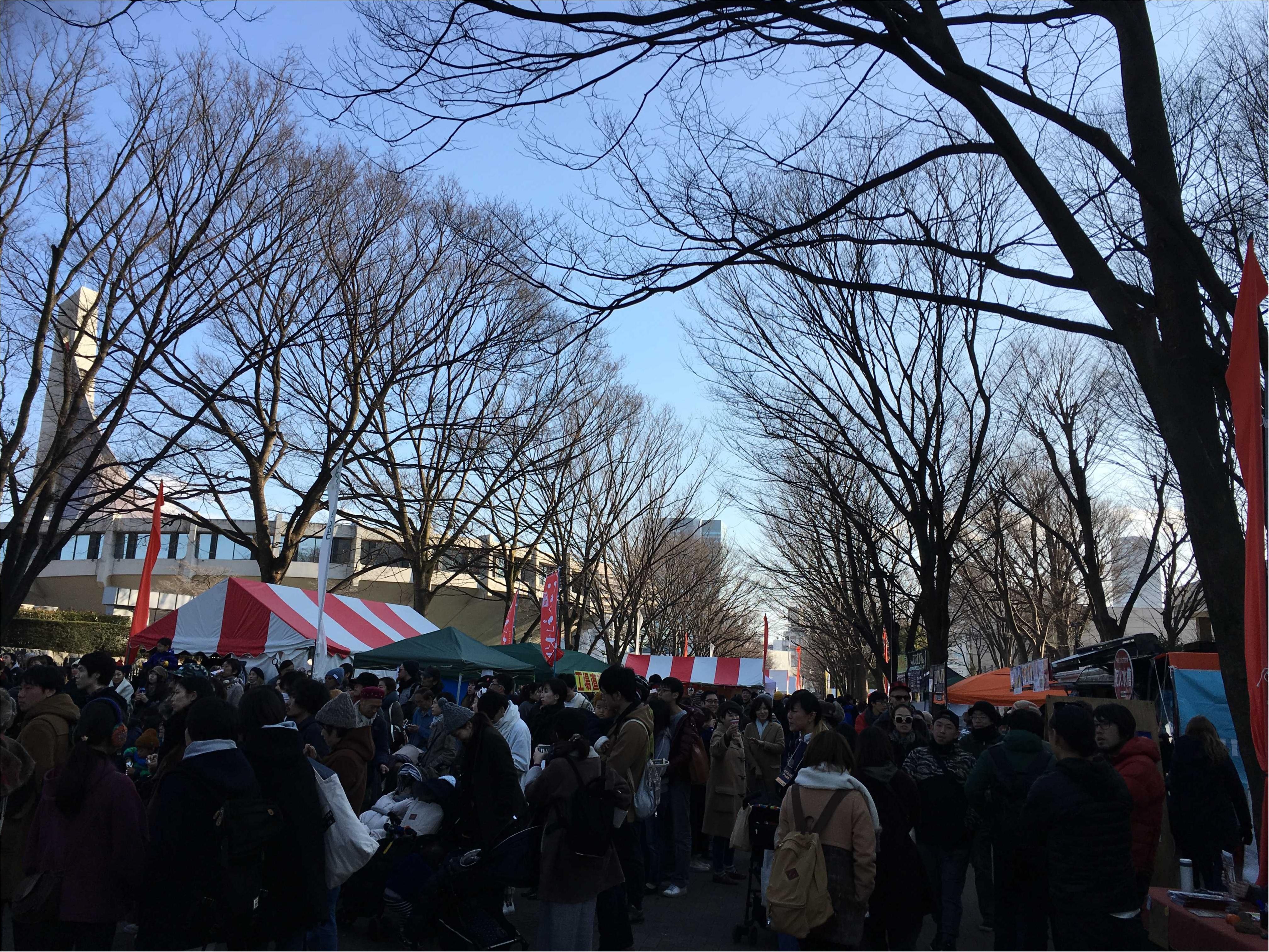 """代々木公園のearth garden """"冬""""2017新年会へ!_1"""