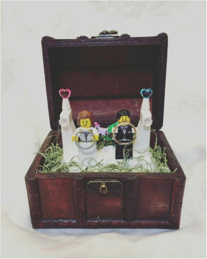【花婿DIY】男性でも出来た!簡単なのに、おしゃれに見える!レゴリングピローの作り方_1