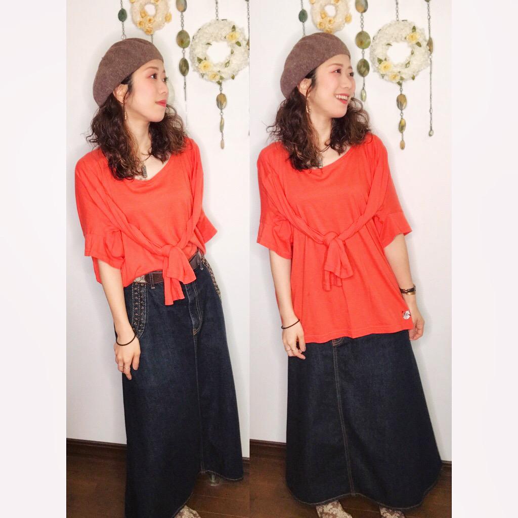 【オンナノコの休日ファッション】2020.5.22【うたうゆきこ】_1