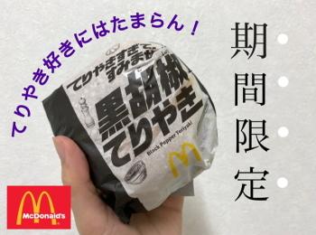 【マクドナルド】新メニューのてりやきバーガー2種類徹底解説!