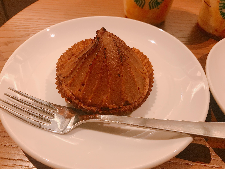 【秋のスタバ】濃厚マロンペーストの《焼き栗モンブラン》♡_2