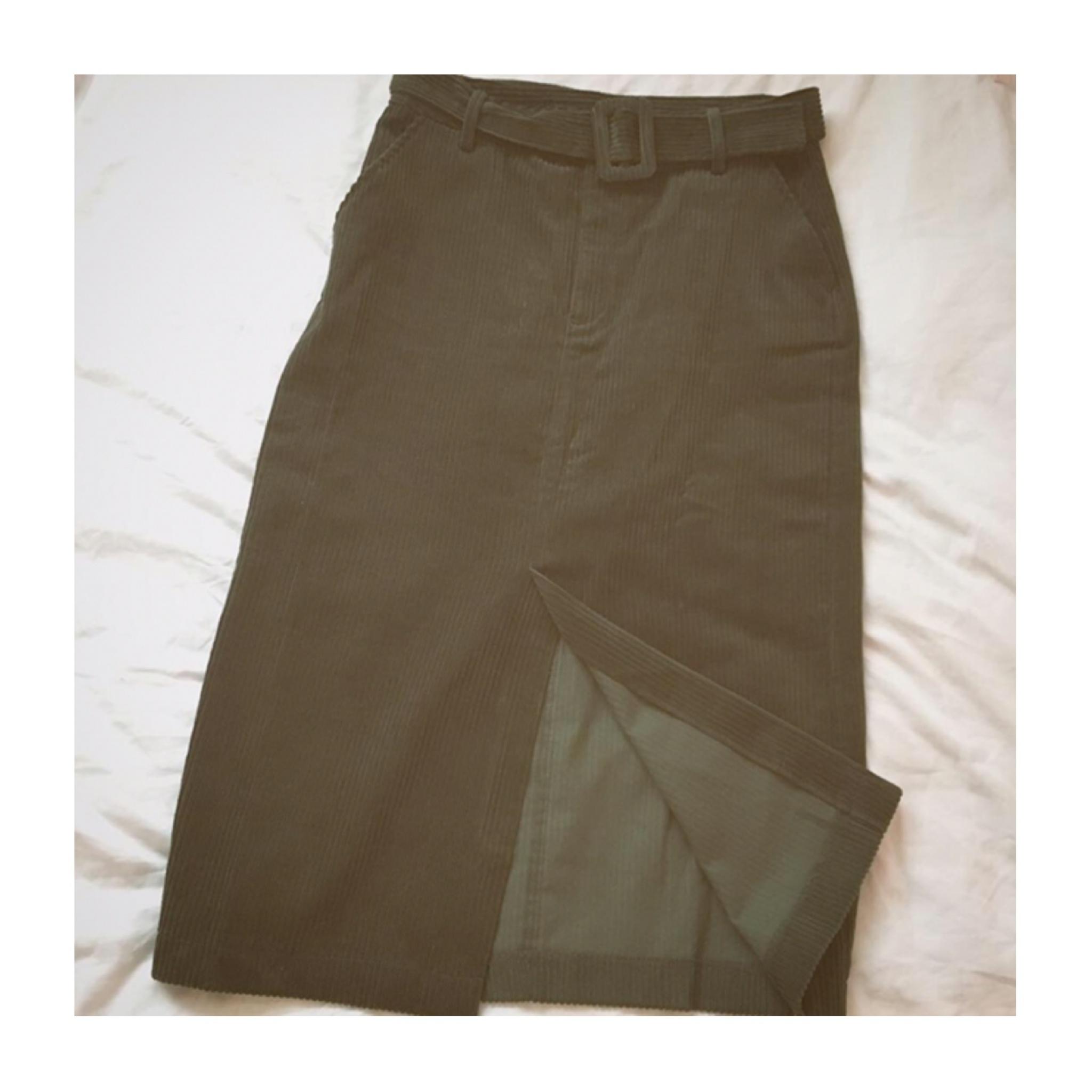 今季1着は欲しい《トレンドのスカートはコレだ☝︎❤️》【ZARA】のコーデュロイタイトスカートが使えます☻_3