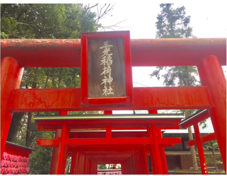 【TRIP】愛知県犬山市♡! #ハートの絵馬 が可愛いすぎ♡縁結び、恋愛成就の三光稲荷神社⋈_2