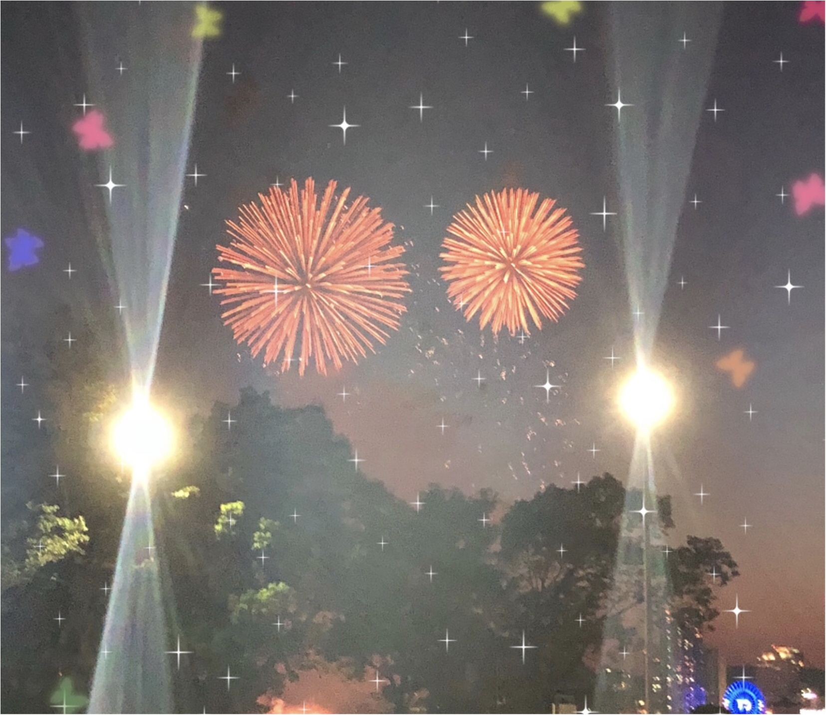 夏ですね!花火祭り。神戸の夜に素敵な華♡_1