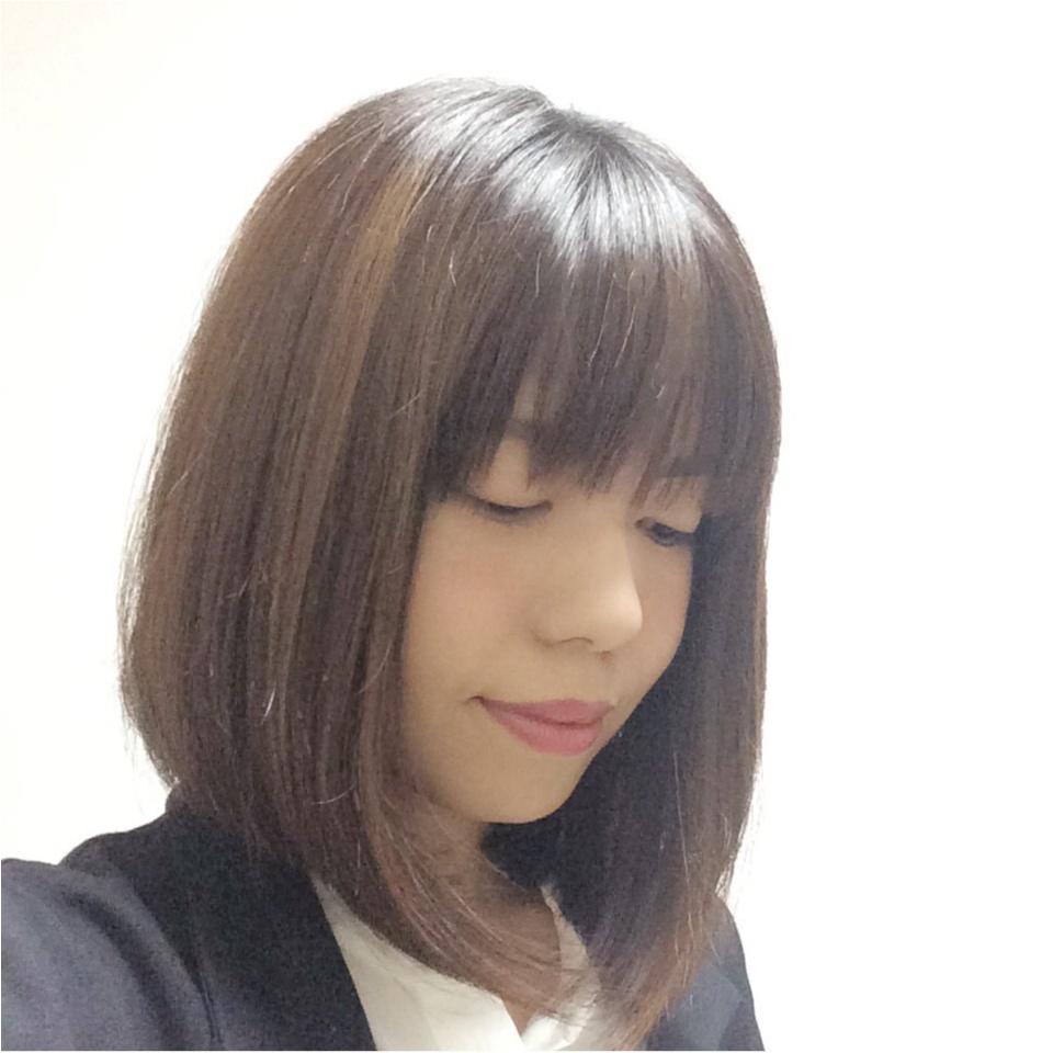 new! カットでヨンア風ロブスタイル☆_3