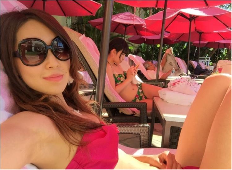 【TRIP】憧れのピンクパレス♡ロイヤルハワイアンのプールがフォトジェニックすぎる♡_1