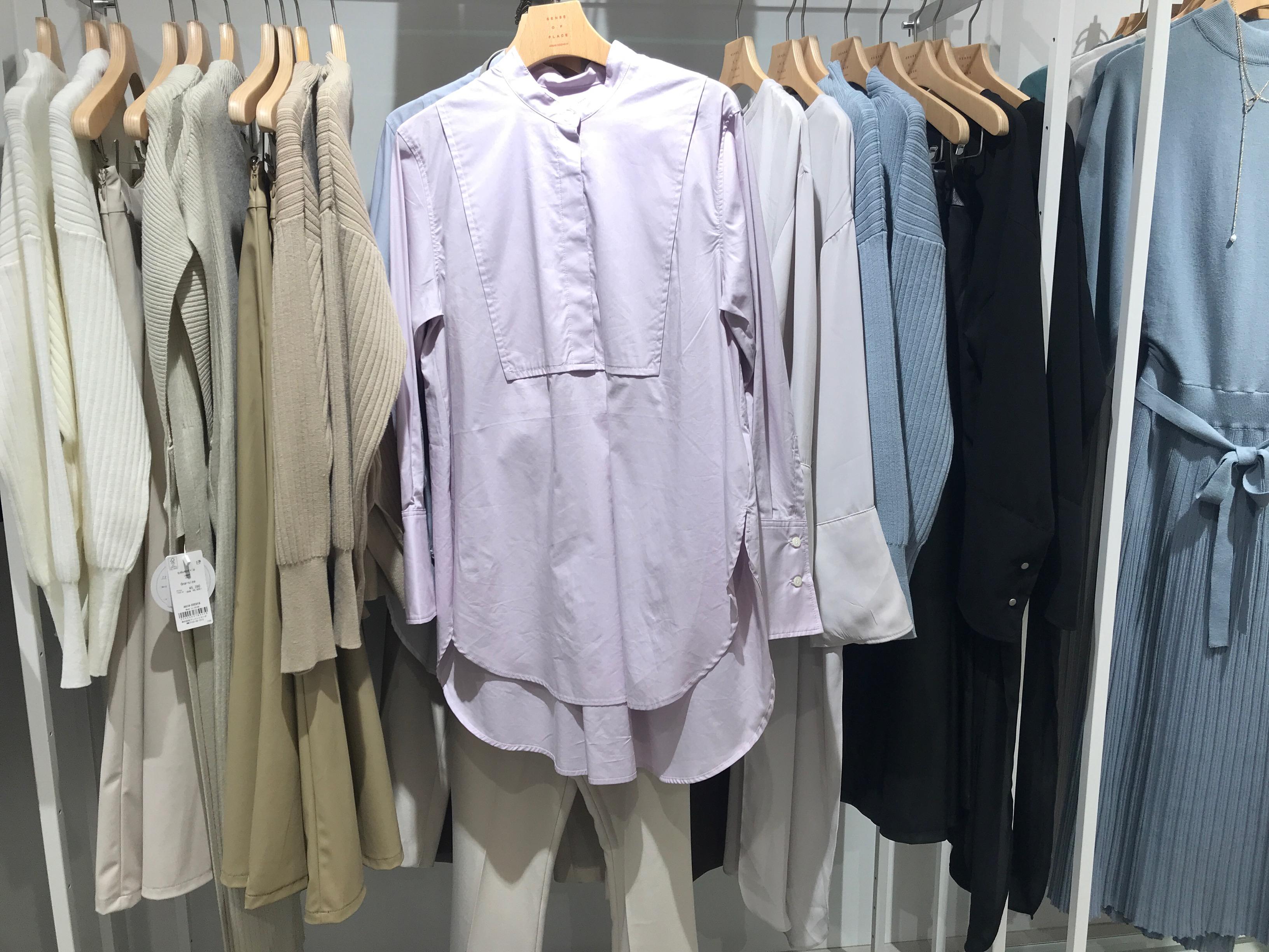 プチプラ服!【センスオブプレイス】の《春色ドレスシャツ》が可愛い♡⋈_3