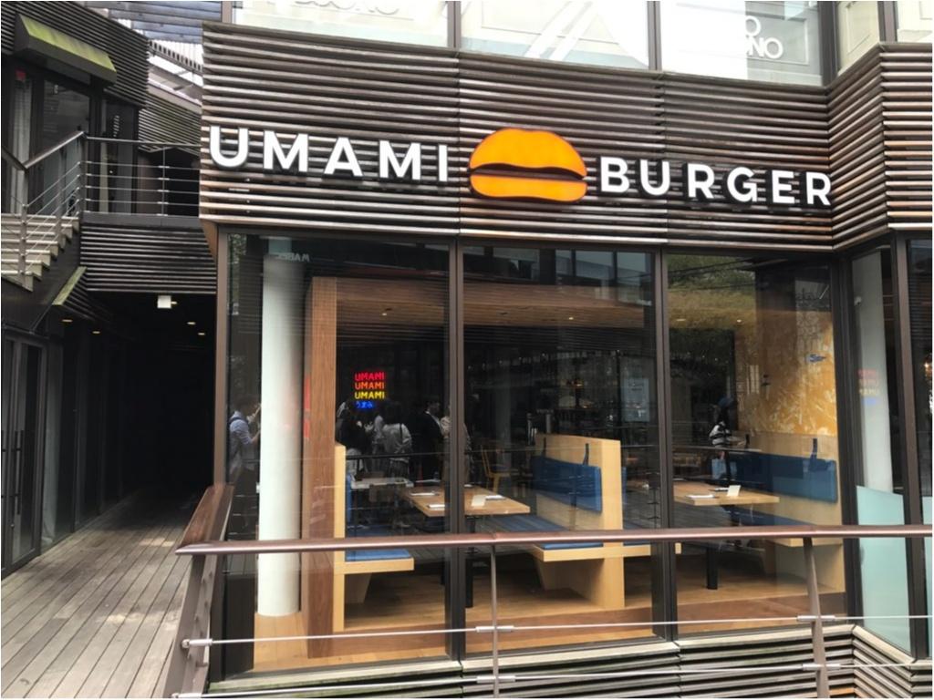 LA発・日本初上陸の人気ハンバーガーレストラン【UMAMI BURGER(ウマミバーガー)】で旨味がつまった絶品バーガーを堪能♡_1