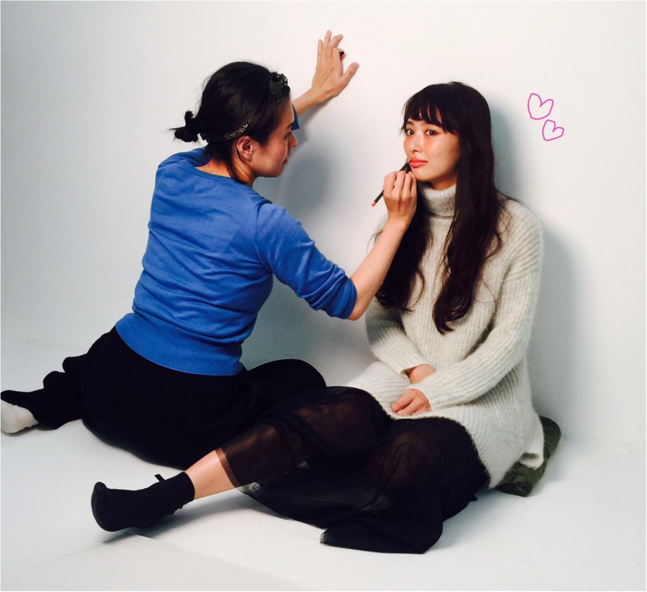 【オフショット】12月号から仲間入り! 専属モデル、だーりおをよろしく♡_1