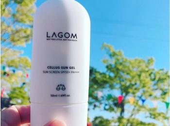 韓国コスメ『ラゴム(LAGOM)』の日焼け止めは、美容液効果で肌の潤いも持続♡