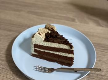 【新商品】チョコミン党のためのケーキ見つけました!《不二家》