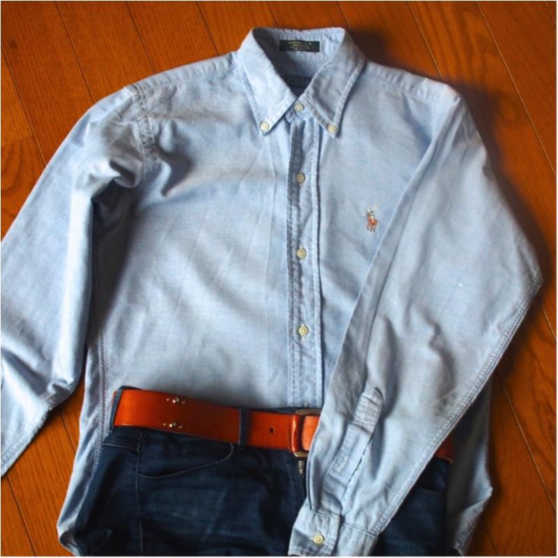 愛用歴10年!ひとつ持っておくとオールシーズン使えるラルフローレンのシャツ(412あみ)_2