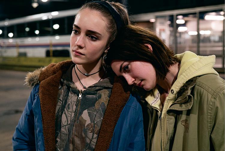 映画『17歳の瞳に映る世界』のキービジュアル