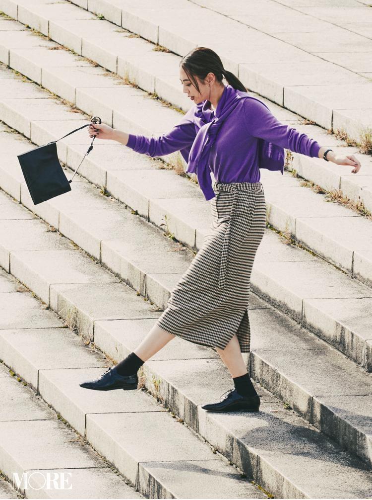 注目のきれい色【パープル】コーデ見本 | ファッション(2018年秋冬編)_1_32