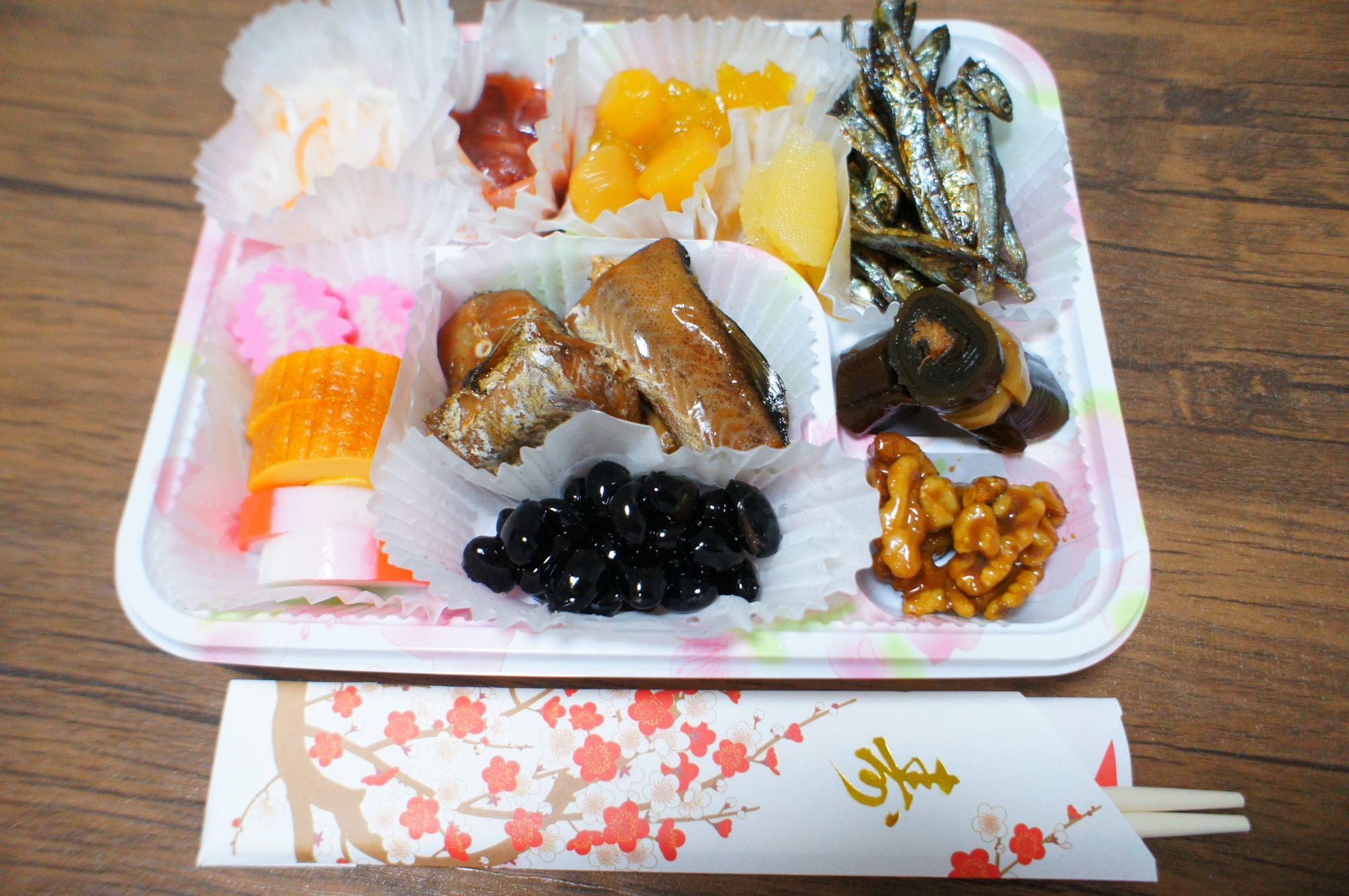 《カスタマイズ自由❤️》超人気!食べきりサイズ【ローソンストア】100円おせち☻_2