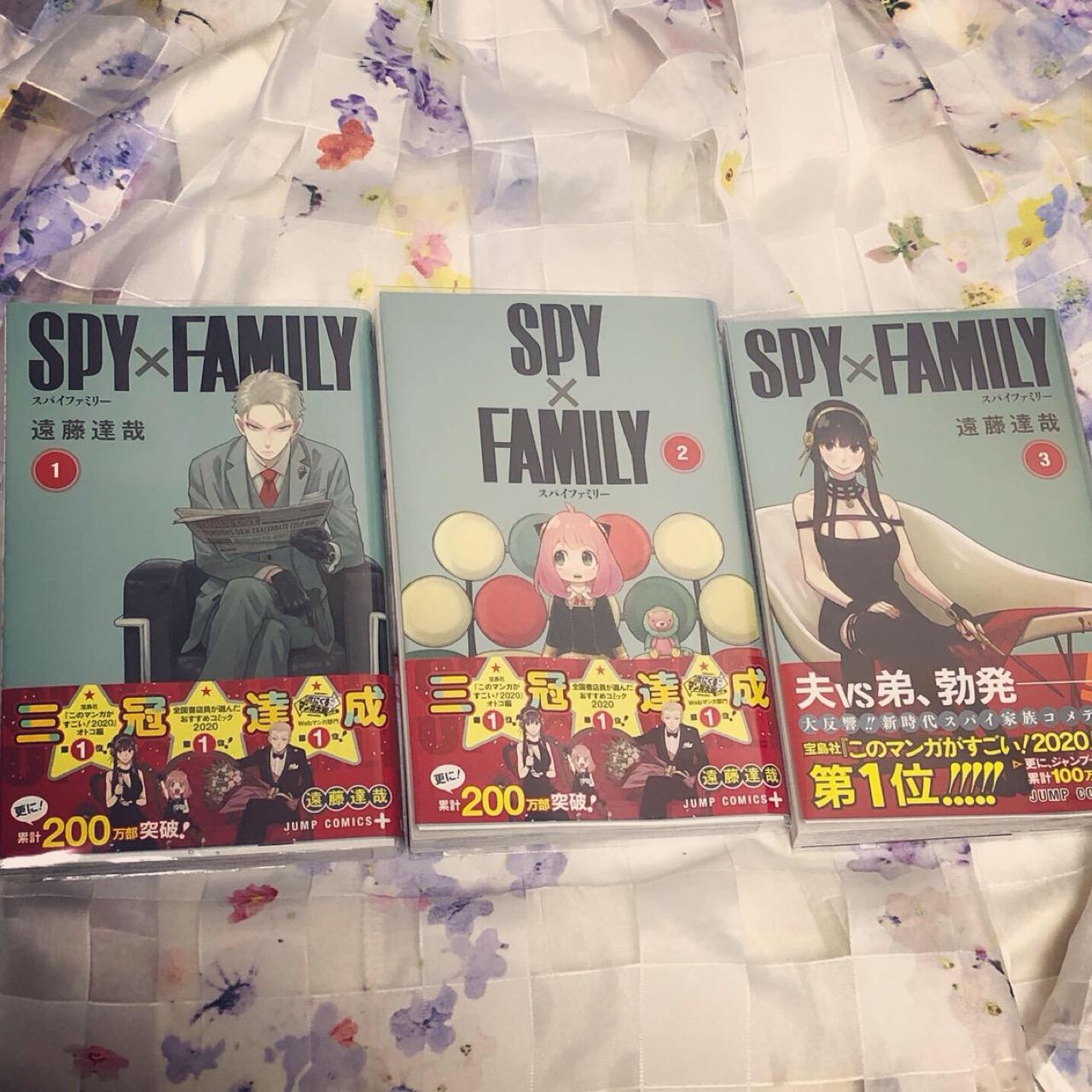 """次にくるマンガはコレ!気になる作品""""SPY×FAMILY""""を大人買い♡_1"""
