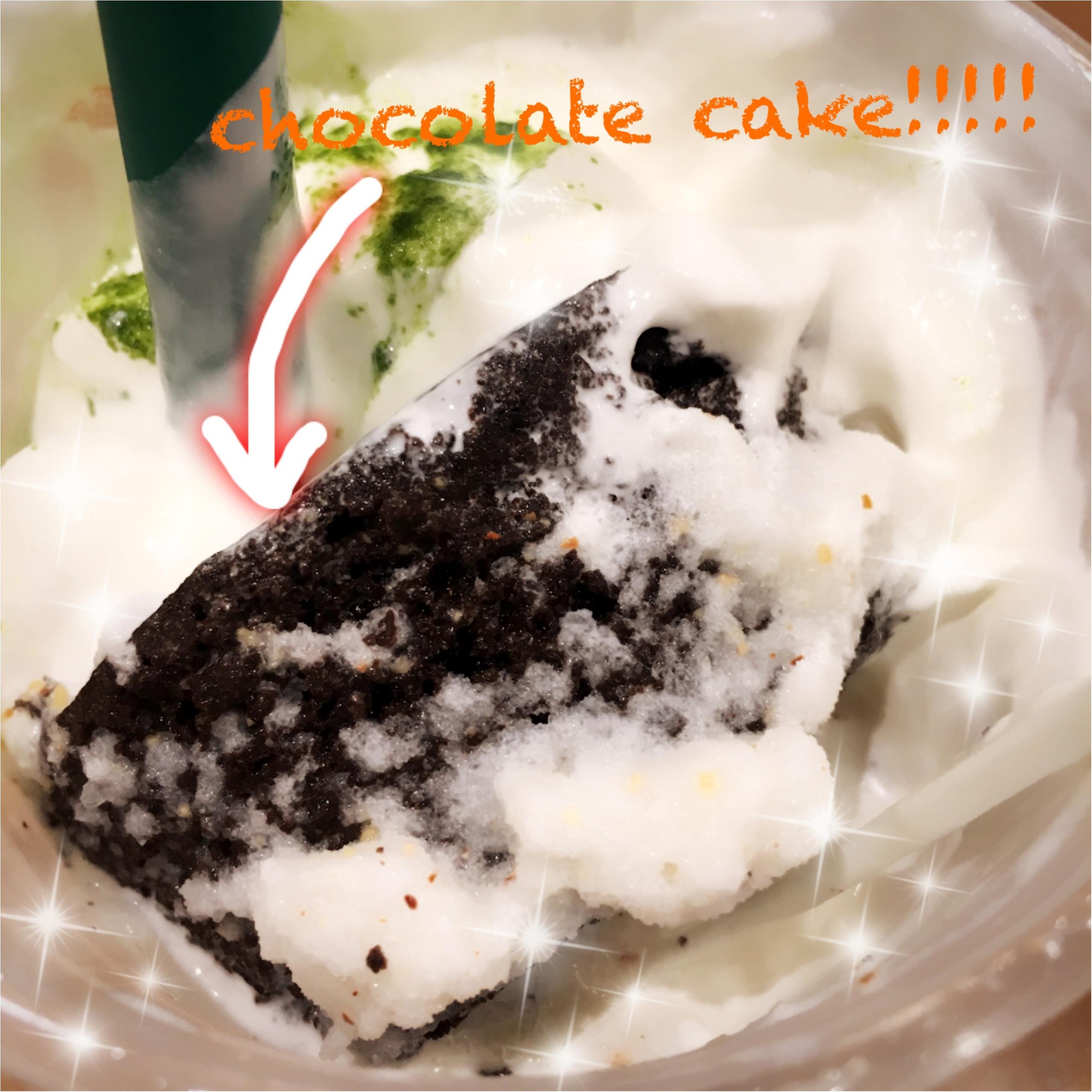 【スタバ新作】チョコレートケーキトップフラペチーノwith抹茶ショットの魅力をご紹介っ!(ර⍵ර)✧_2