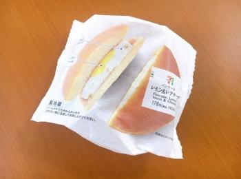 【セブンスイーツ】夏っぽ爽やかスイーツ《パンケーキレモン&レアチーズ》