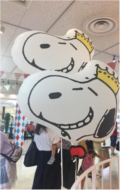 【スヌーピーカーニバル】大丸札幌店で開催中!!メリーゴーランドに乗ってる仲間たちが迎えてくれますよ!_2