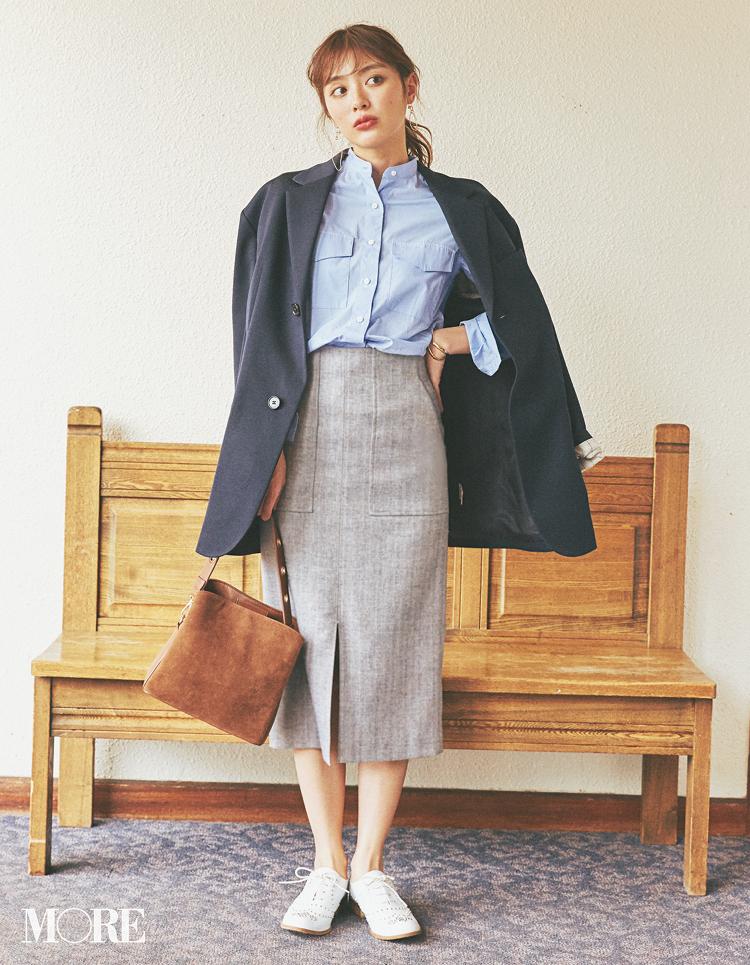 2月にスエードやツイードなど【重ため素材のスカート】を選ぶと春も得するってウワサ!_1_4