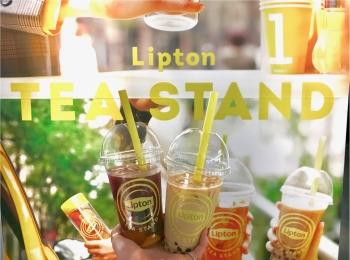 表参道・大阪で大人気のあの『リプトン』イベントがお店になった! 「Lipton Tea Stand」が、札幌北広島・名古屋・博多にオープン★