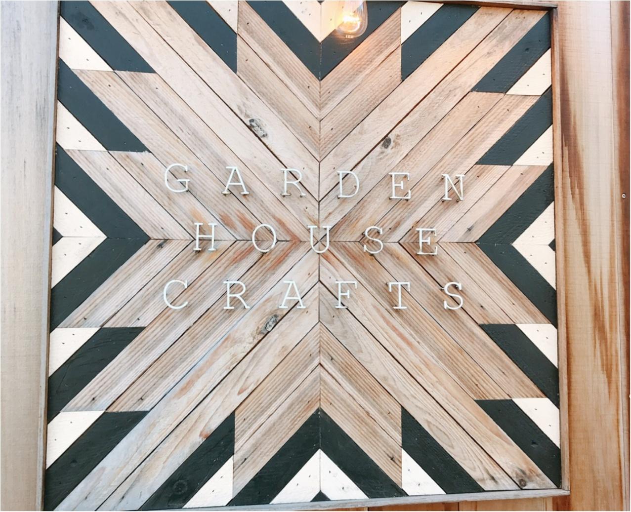 【代官山】GARDEN HOUSE CRAFTS(ガーデンハウスクラフツ)で気持ちいい朝を♡_1
