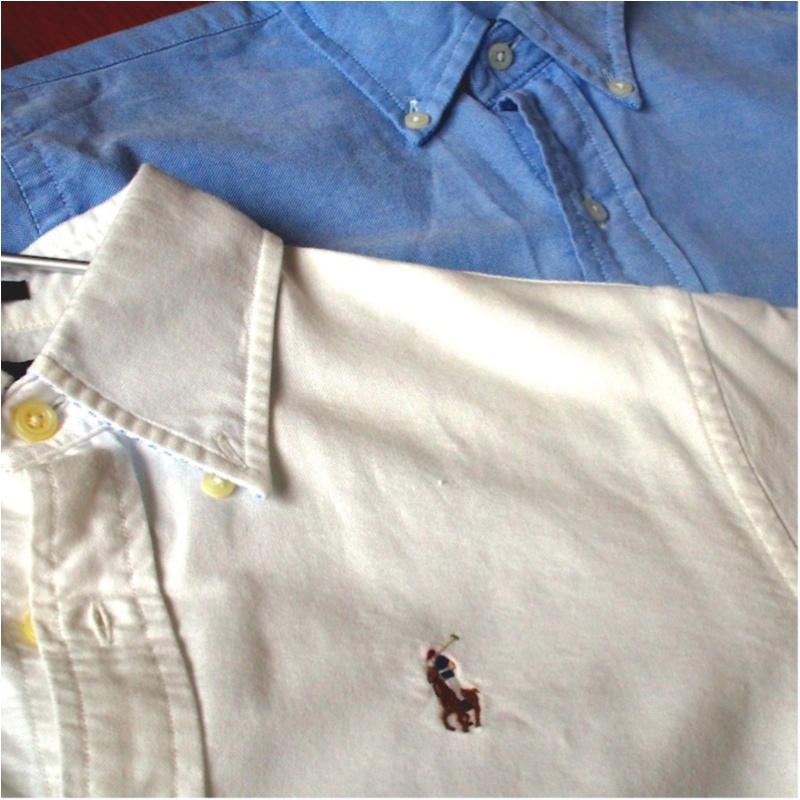 愛用歴10年!ひとつ持っておくとオールシーズン使えるラルフローレンのシャツ(412あみ)_1