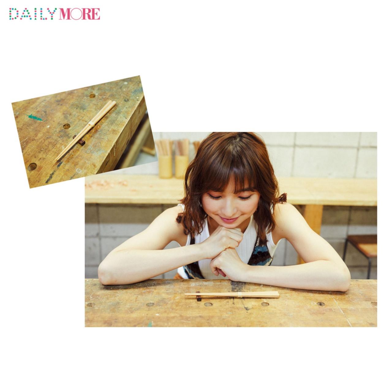 篠田麻里子が体験♡ 話題の「お箸作り」に行こう!【麻里子のナライゴトハジメ】_2