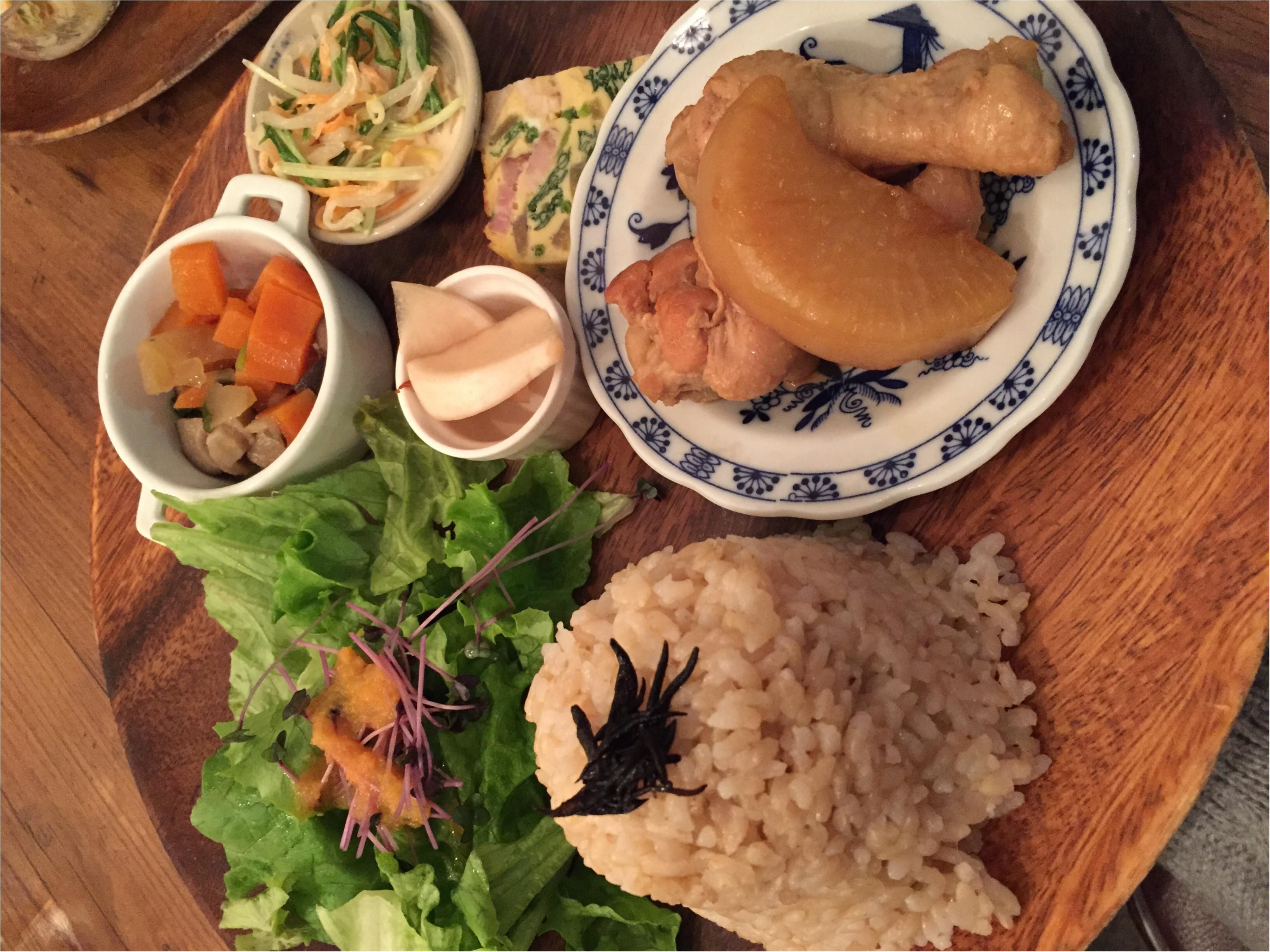 ♡自由が丘のおしゃれカフェ♫食材、調味料にこだわったプレートを食べてみて!fetecafe♡_1