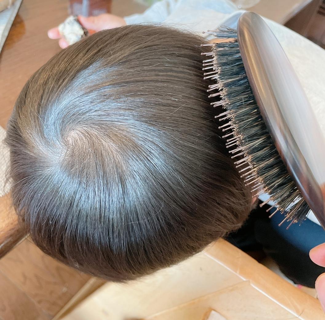【えっ!?こんなにツヤツヤに?】La CASTAのヘアブラシで頭皮も毛先も元気に!!効果に驚き!_8