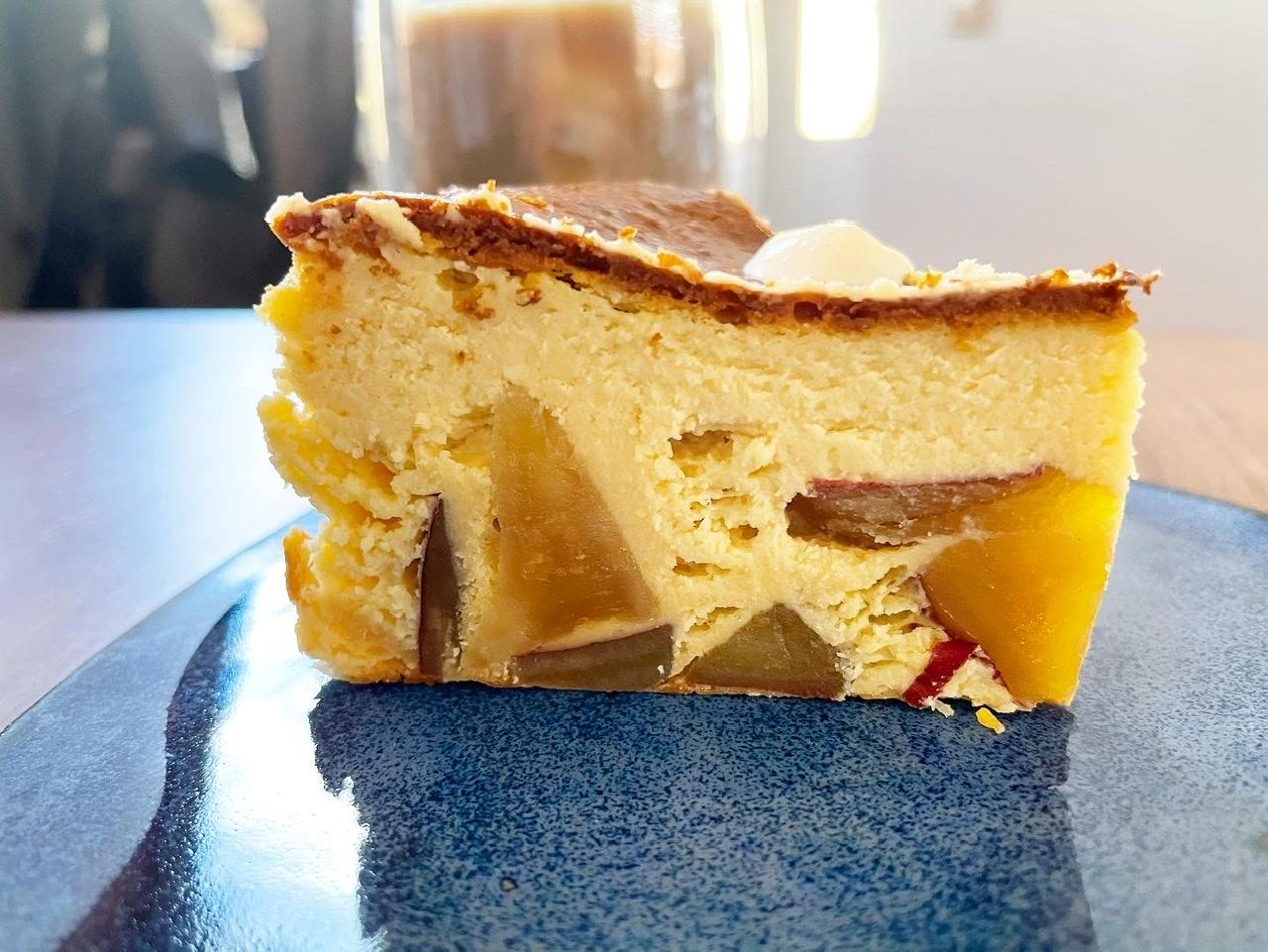 【神レシピ】さつまいもの濃厚バスクチーズケーキ…ほっこり秋スイーツで幸せなおうち時間❤︎_1