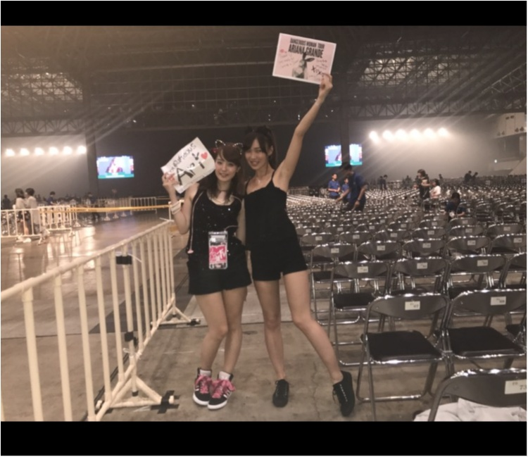 【❤︎❤︎❤︎】アリアナグランデ #dangerouswomantour に行ってきたああああ!!_6