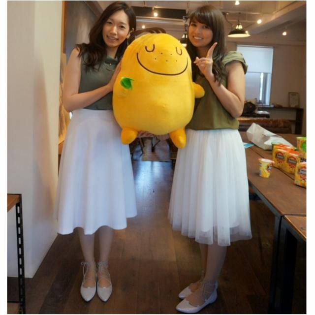 【RiCha♡ & samenyan】のリンクコーデ♡佐藤ありさちゃんの白スカートコーデ編≪samenyan≫_2