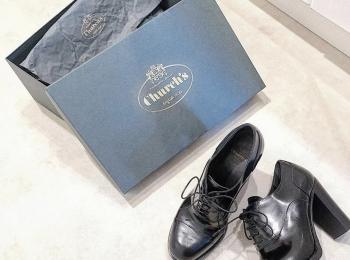 憧れ革靴❤︎《Church's》