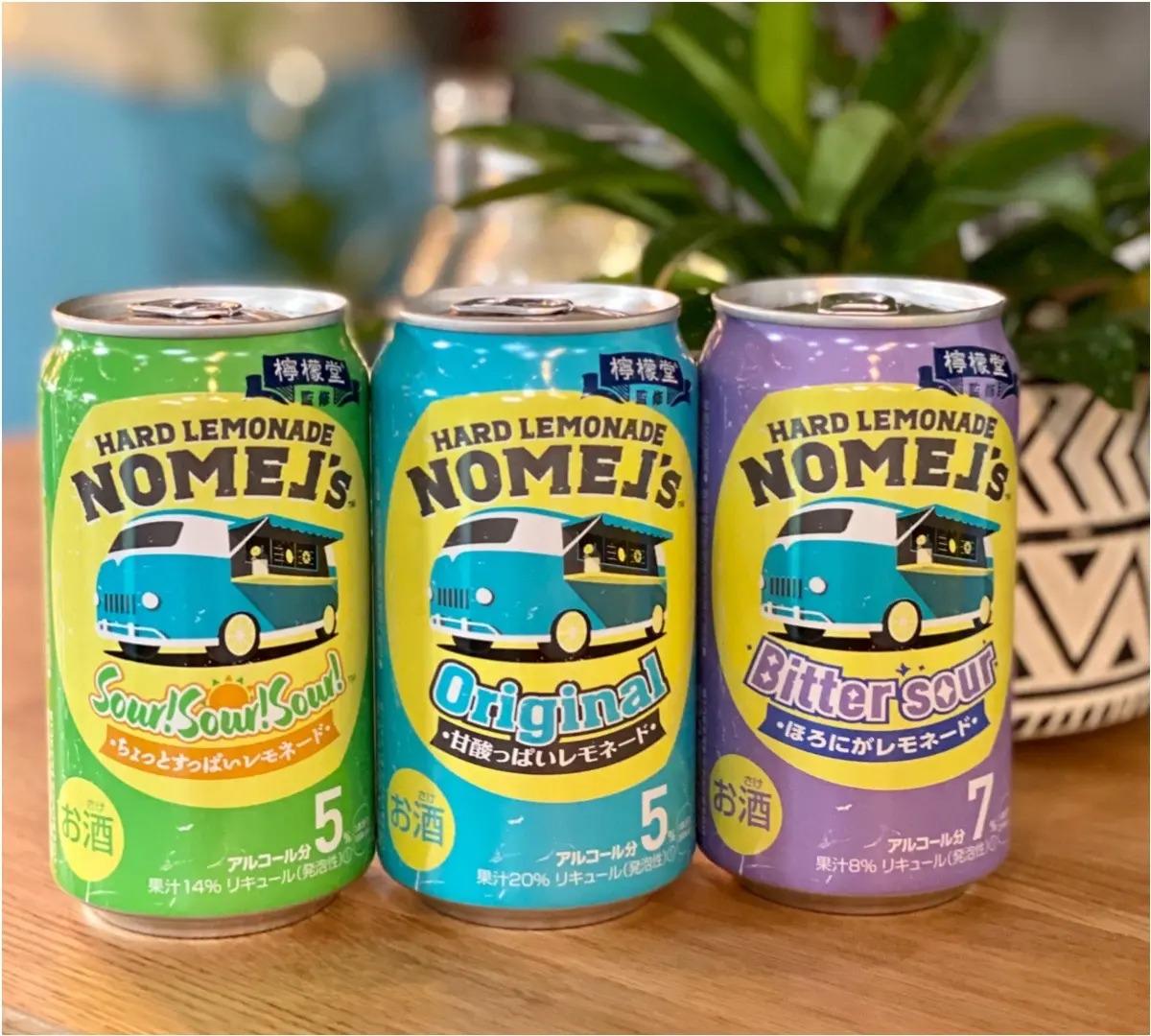 新発売のお酒「ノメルズ ハードレモネード」