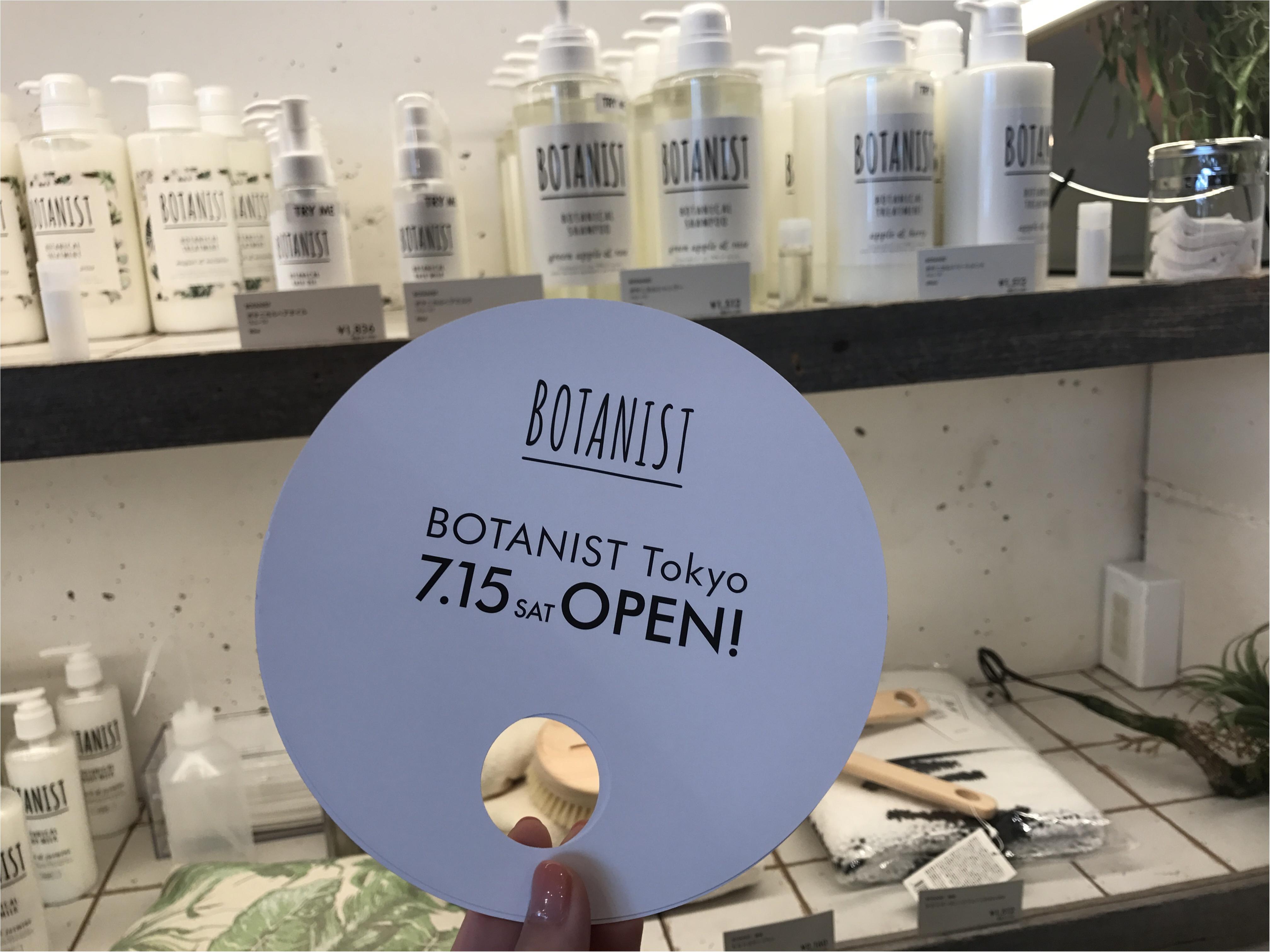 【本日オープン!!】ボタニスト(BOTANIST)初の直営店が原宿に♡♡_7