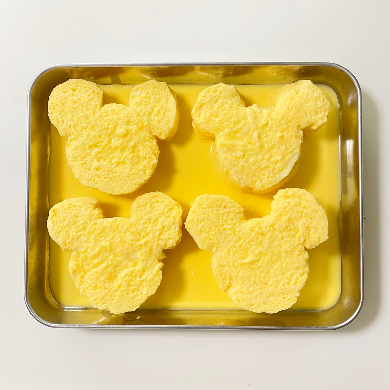 【ディズニーランド】のフレンチトースト♡公式レシピで作ってみました!_4
