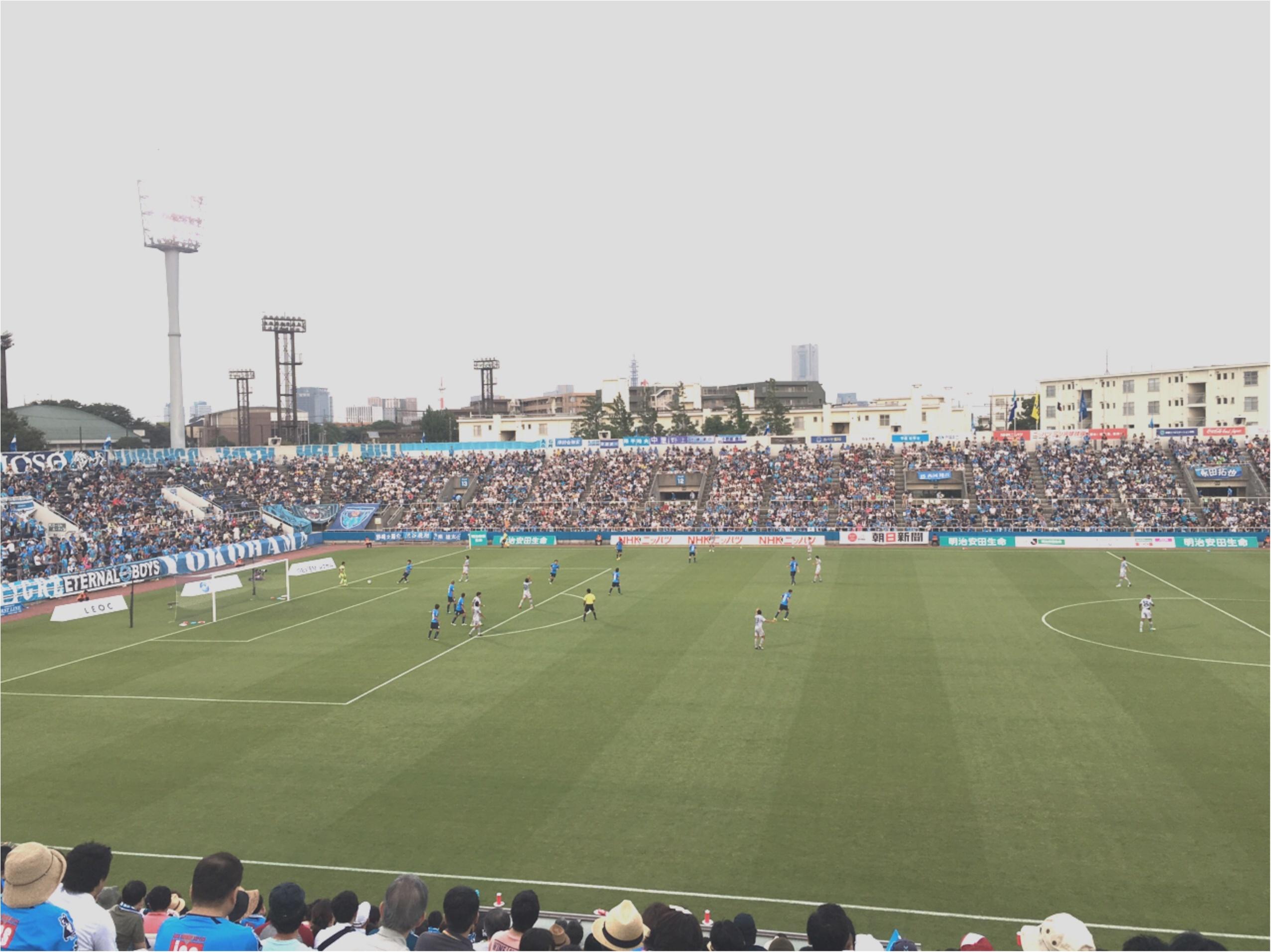 ★モアハピ女子会で、初めてのサッカー観戦へ☺︎横浜FCがおすすめなワケ♡_1