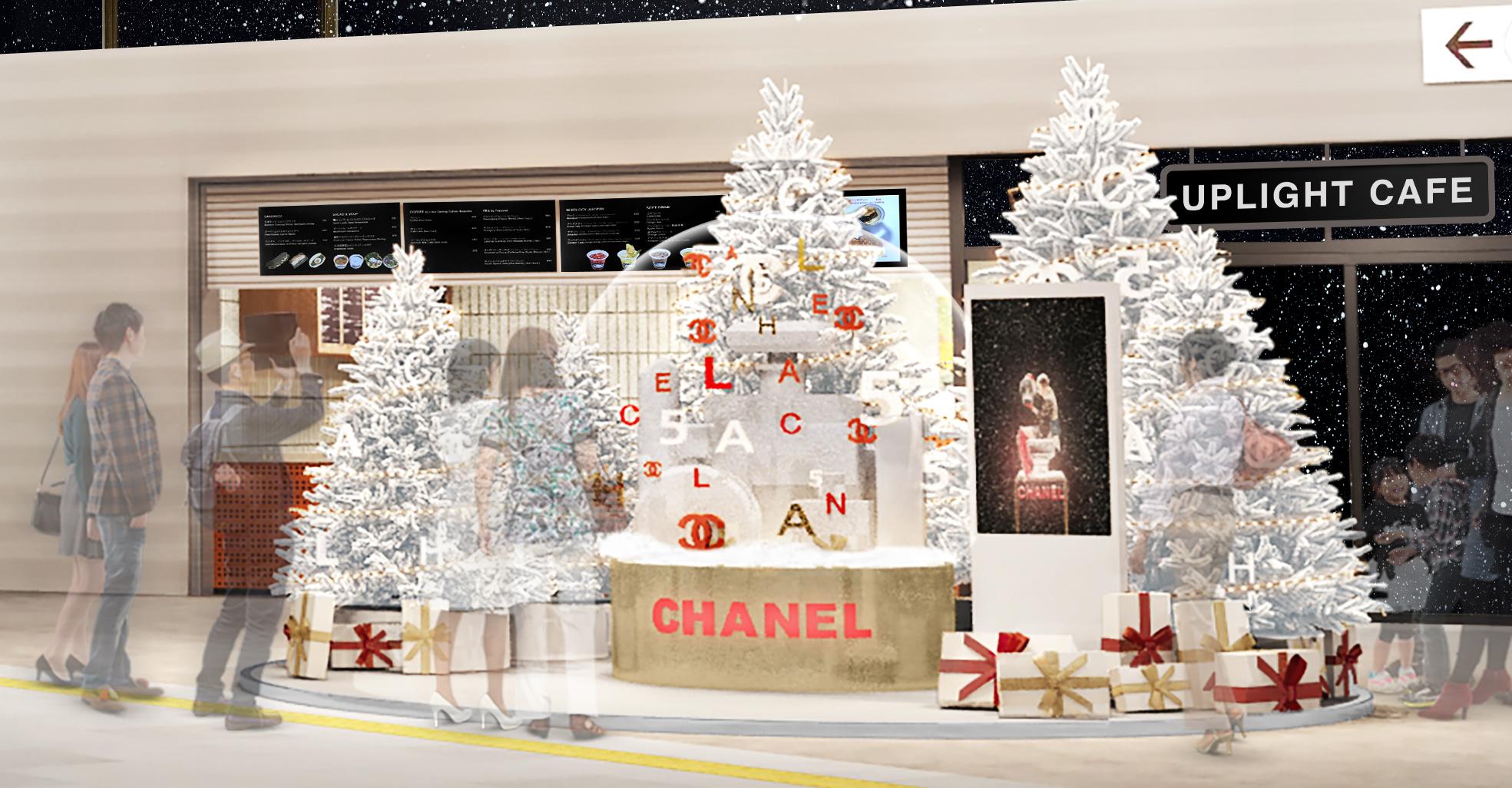 渋谷に『シャネル』のスノードームが出現! 2019クリスマスいちばんのフォトスポットを見逃さないで♡_1