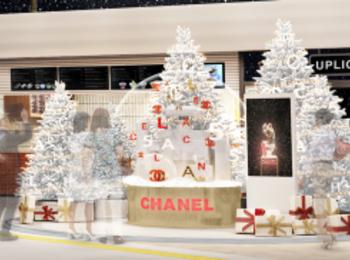 渋谷に『シャネル』のスノードームが出現! 2019クリスマスいちばんのフォトスポットを見逃さないで♡